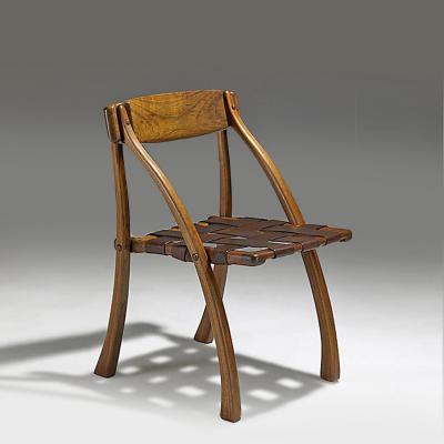 Arthur Espenet Carpenter Wishbone Chair by Arthur Espenet Carpenter 1989