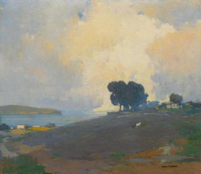 Arthur Frank Mathews Summertime