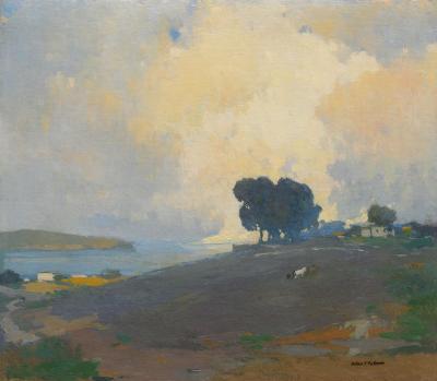 Arthur Frank Mathews Summertime c 1915