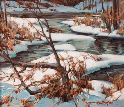 Arthur Meltzer Creek Near Rushland