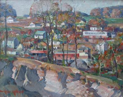 Arthur Meltzer Hillside of Oakford