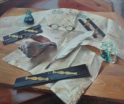 Arthur Meltzer Scribes of Old by Arthur Meltzer