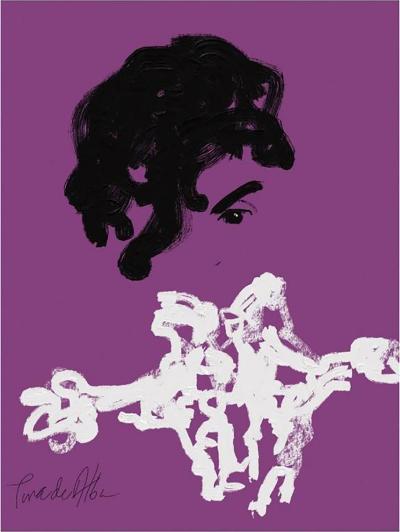 Arthur Pina de Alba Prince by Arthur Pina de Alba iPad Drawing on Archival Art Paper 3 of 7