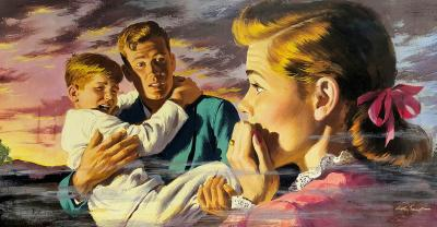 Arthur Saron Sarnoff Saving the Children Family in Horror