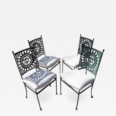 Arthur Umanoff Arthur Umanoff Mayan Dining Chairs Set of Four