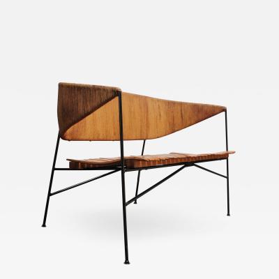 Arthur Umanoff Arthur Umanoff for Shaver Howard Modernist Bench Settee