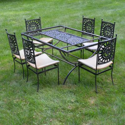 Arthur Umanoff Mayan Sun Dining Set