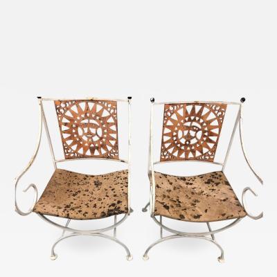 Arthur Umanoff Midcentury Sunburst Chairs by Umanoff