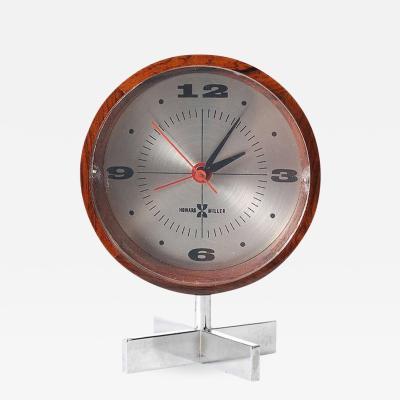 Arthur Umanoff Table Clock by Arthur Umanoff for George Nelson and Associates