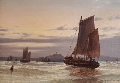 Arthur Wilde Parsons Off inchkeith Firth of Forth Scotland