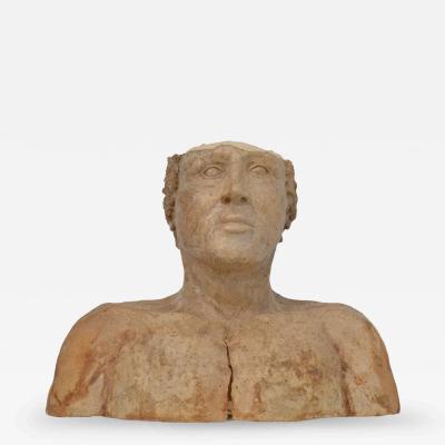 Artisan Pottery Bust