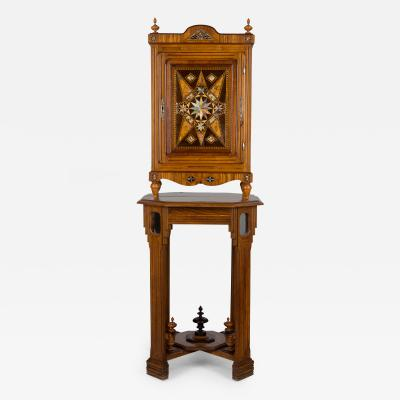 Arts Crafts Cabinet By French Eb niste