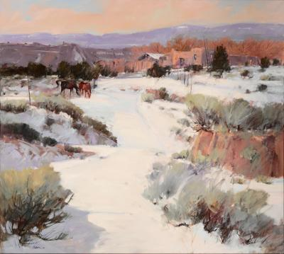 Arturo Chavez Winter Grazing