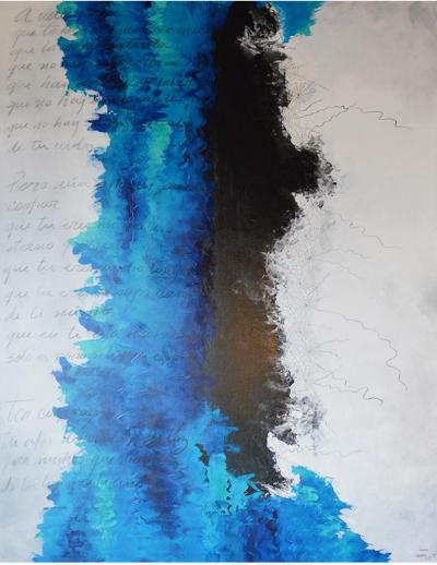 Artwork signed by Leonora Sisto Conf a Mexico 21st Century