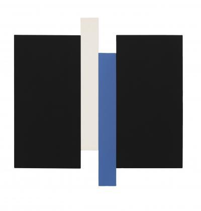 Arupa Black Blue Canvas