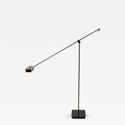 Asahara Shigeaki Black Samurai Floor Lamp by Asahara Shigeaki for Stilnovo 1970s