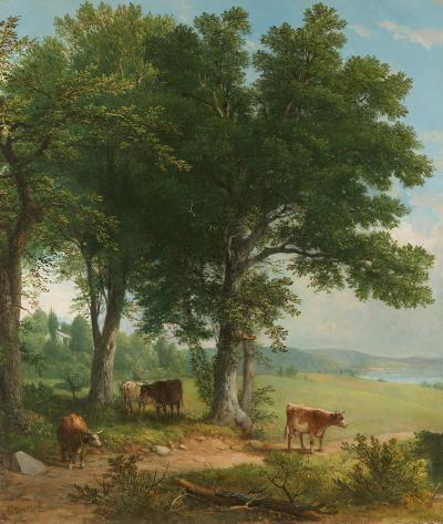 Asher Brown Durand Shade of an Old Oak Tree