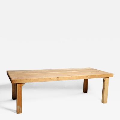 Asian Modern Reclaimed Champaca Wood Dining Table