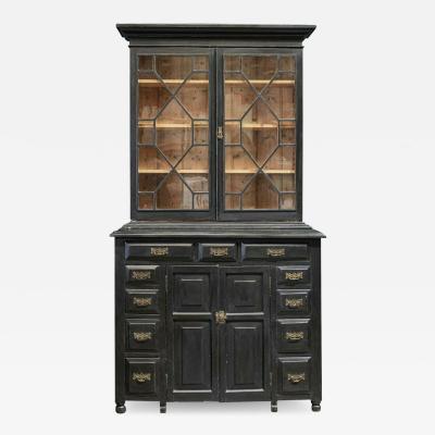 Astral Glazed Bookcase Vitrine Dresser