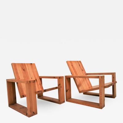 Ate van Apeldoorn Rare set of Ate van Apeldoorn lounge chairs