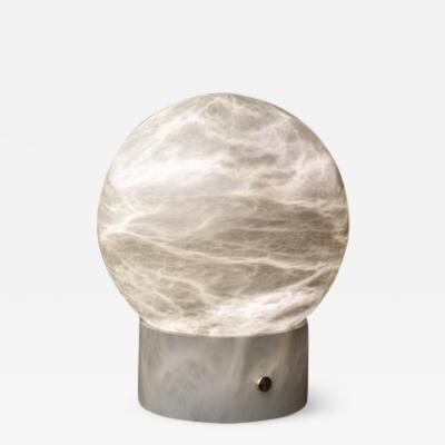 Atelier Alain Ellouz Athena AlabasterTable Lamp by Atelier Alain Ellouz
