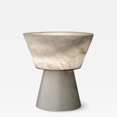 Atelier Alain Ellouz Gama Alabaster Table Lamp by Atelier Alain Ellouz