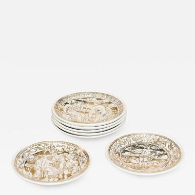 Atelier Fornasetti Set of Fornasetti Coasters