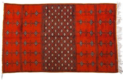 Atlas Showroom Berber Large Rug Handmade in Morocco with Abstract Flourishes