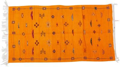 Atlas Showroom Berber Rug Moroccan Handwoven Wool with Organic Dye