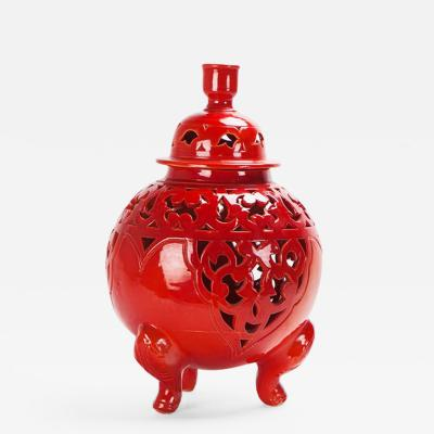 Atlas Showroom Sahara Handcrafted Three Leg Vase or Lantern