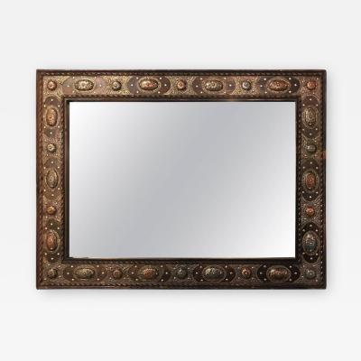 Atlas Showroom Tribal Style Hanging Wall Mirror