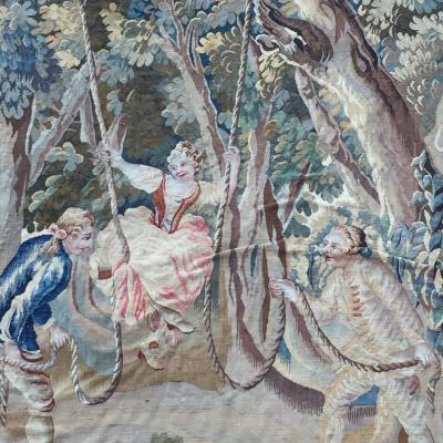 Aubusson Atelier Louis XVI Aubusson Tapestry