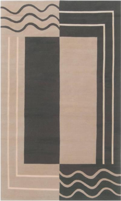 Aubusson Design Geometric Rug