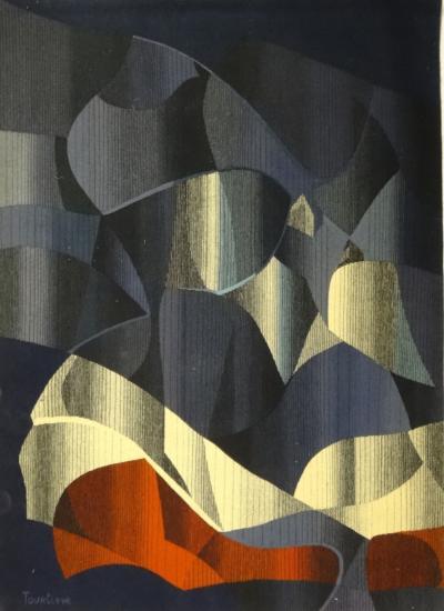 Aubusson Tapestry Carton By Michel Tourli re