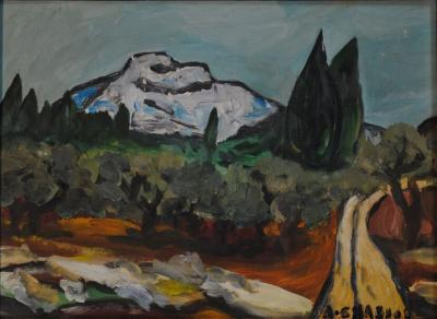 August Chabaud Expressionist August Chabaud Painting