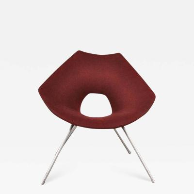 Augusto Bozzi 1950s Easy Chair by Augusto Bozzi for Saporiti Italy