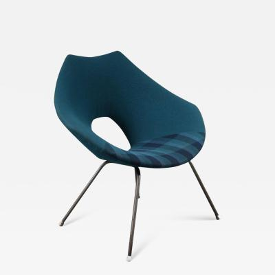 Augusto Bozzi Augusto Bozzi Easy Chair for Saporiti Italy 1950