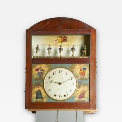 Augustus P Pfaff Philadelphia Automaton Organ Clock