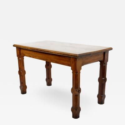 Augustus Welby Northmore Pugin Pugin Style English Pine Table