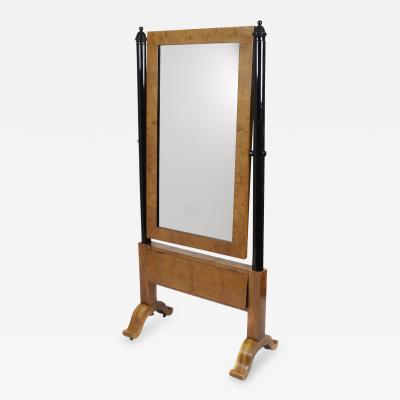 Austrian Biedermeier Dressing Mirror Mid 19th Century