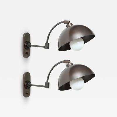 Austrian Dark Bronze Wall Lights