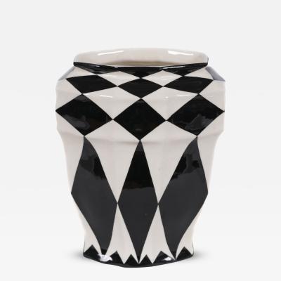 Austrian Secession Period Ceramic Vase by Keramos circa 1925