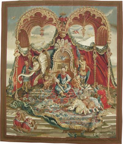 Authentic Decorative French Tapestry