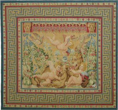 Authentic Tapestry with Naked Angel Design
