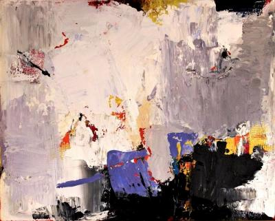Aware of the Chaos Painting by Gisela Miller