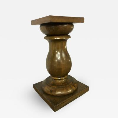 Awesome Solid Neo Classic Wood Pedestal