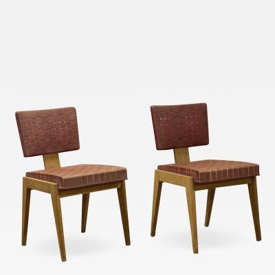 Awesome pair of French fifties chairs