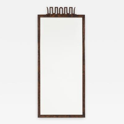 Axel Einar Hjorth AXEL EINAR HJORTH MIRROR IN POLISHED BIRCH FOR NK 1927