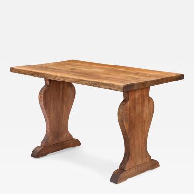 Axel Einar Hjorth Axel Einar Hjorth Attributed A Rare and Unusual Swedish Pine Table
