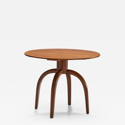 Axel Einar Hjorth Axel Einar Hjorth Round Coffee Table for Nordiska Kompaniet Sweden 1937